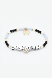 Lets Accessorize Little Words Bracelet - Front cropped