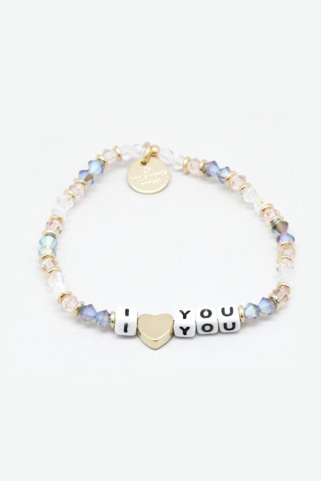 Lets Accessorize Little Words Bracelet - Front Cropped Image