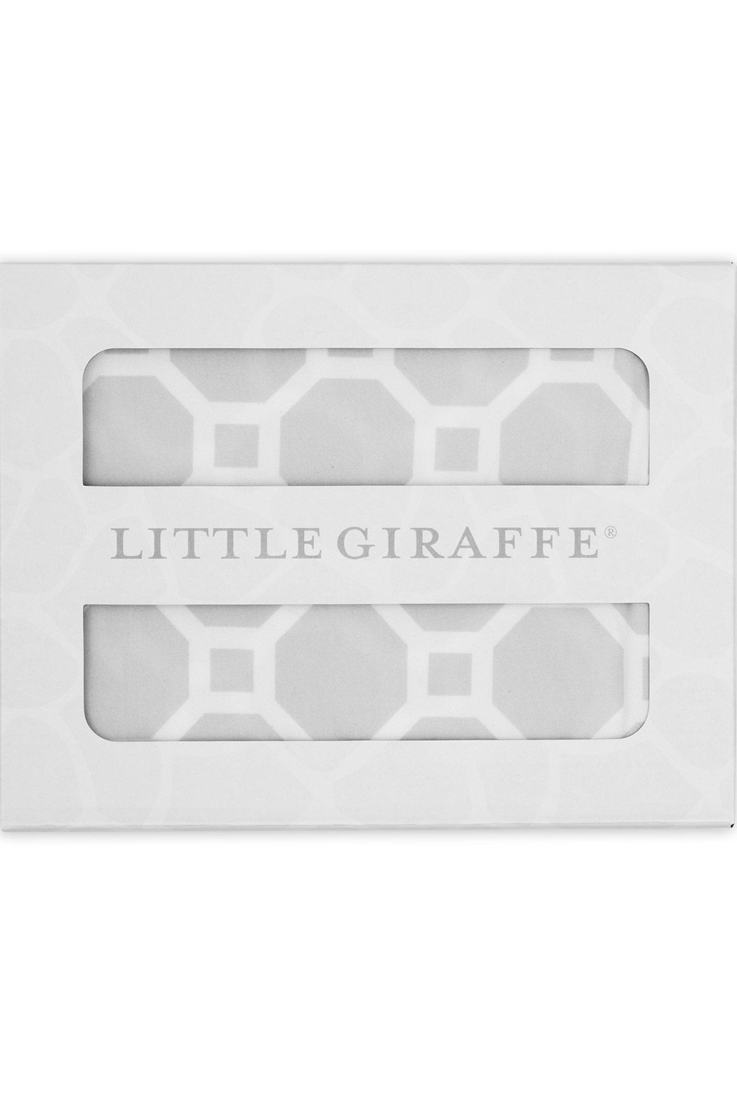 LITTLE GIRAFFE Airie Swaddle Blanket - Front Full Image