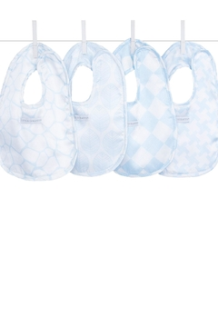 Shoptiques Product: Blue Satin Bibs