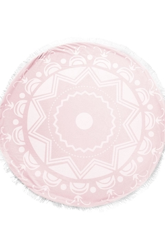 Shoptiques Product: Pink Round Blanket