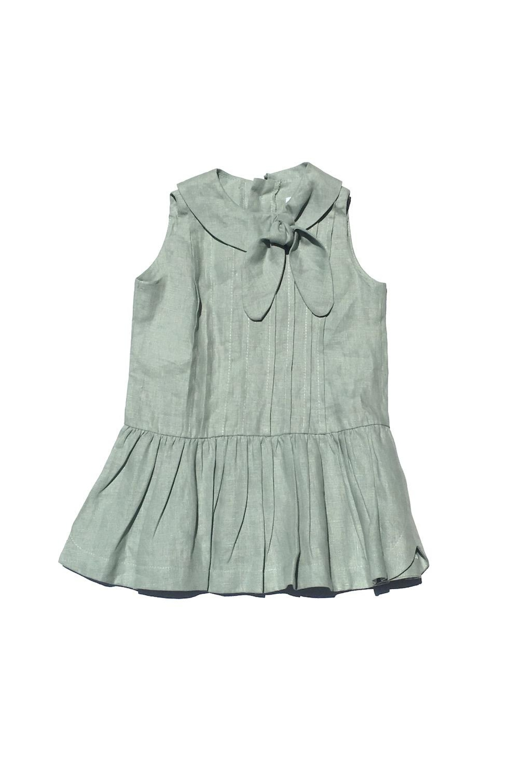 Little Goodall Eleanor Linen Dress - Main Image