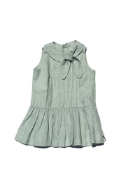 Little Goodall Eleanor Linen Dress - Front cropped