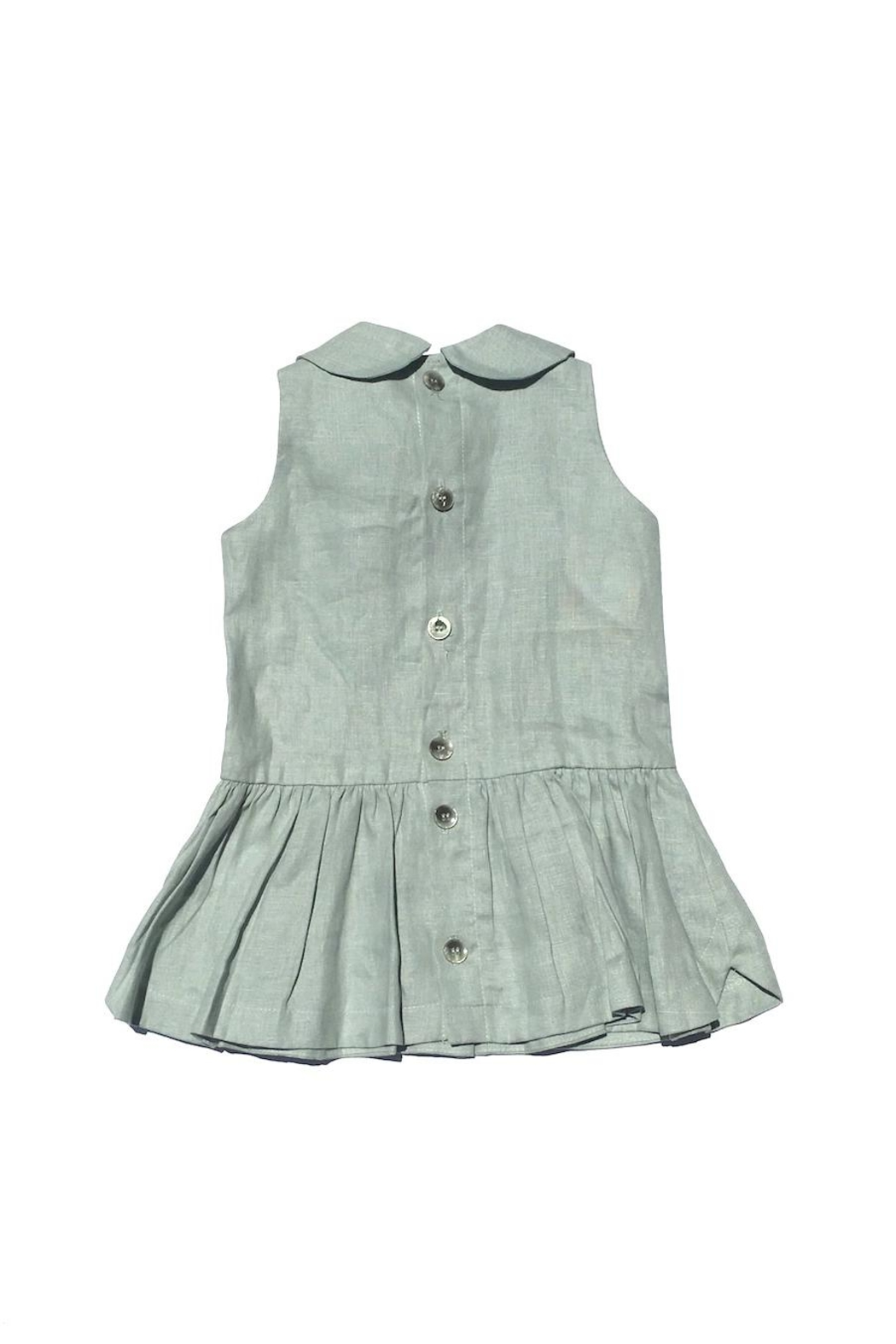 Little Goodall Eleanor Linen Dress - Front Full Image