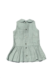Little Goodall Eleanor Linen Dress - Front full body