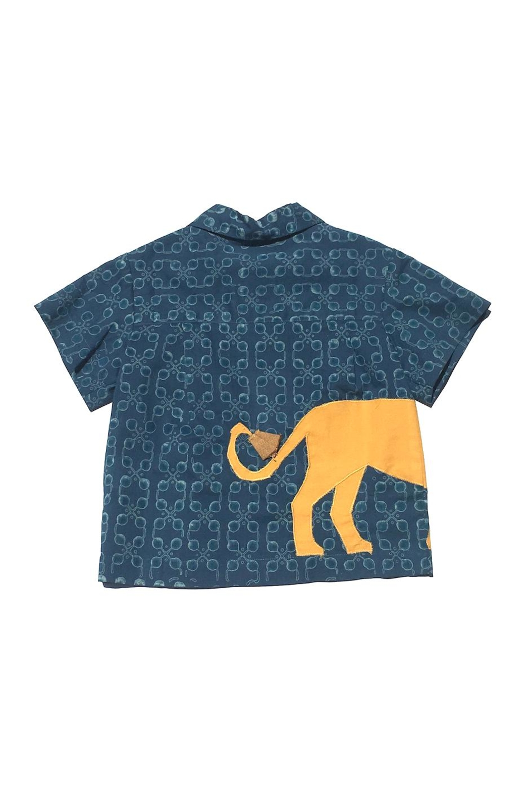 Little Goodall Lion Shirt - Front Full Image