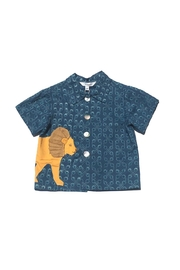 Little Goodall Lion Shirt - Front cropped