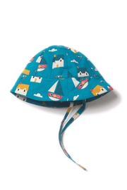 Little Green Radicals Sail Away Sunhat - Front cropped