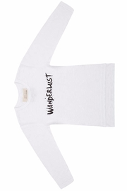 LITTLE INDIANS Wanderlust Cotton Longsleeve - Front cropped
