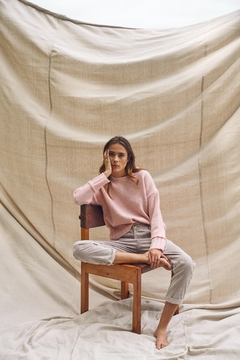 Little Lies Pink Knitted Sweater - Product List Image