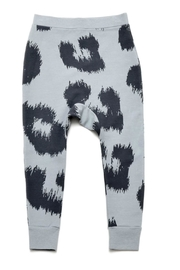 Little Man Happy Leopard Sweatpants - Product Mini Image