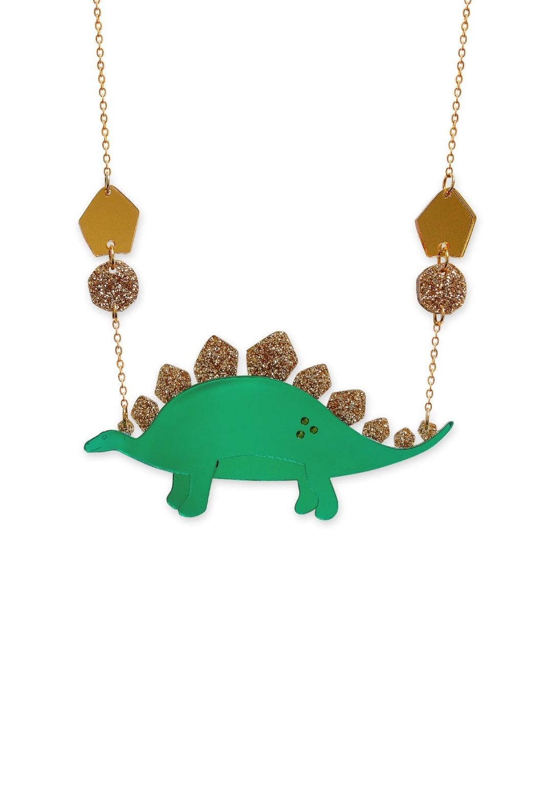 Little Moose Large Dinosaur Necklace - Main Image