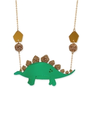 Little Moose Large Dinosaur Necklace - Front cropped