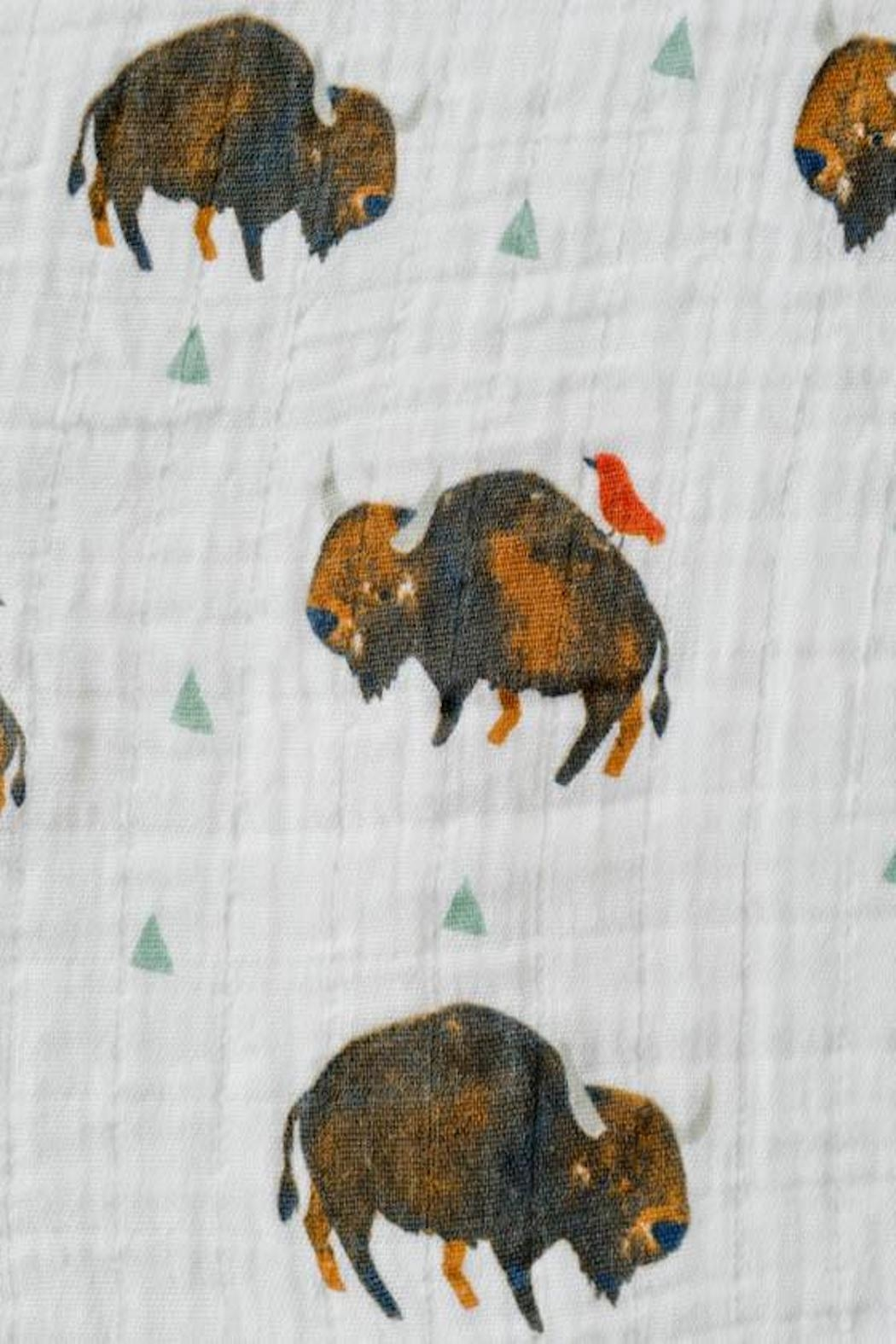 Little Unicorn Bison Cotton Swaddle - Front Full Image