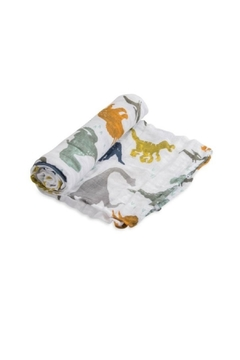 Shoptiques Product: Dino Friends Swaddle