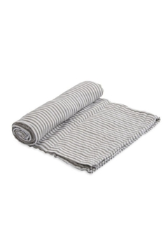 Shoptiques Product: Grey Stripe Swaddle