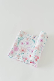 Little Unicorn Morning Glory Swaddle - Front cropped
