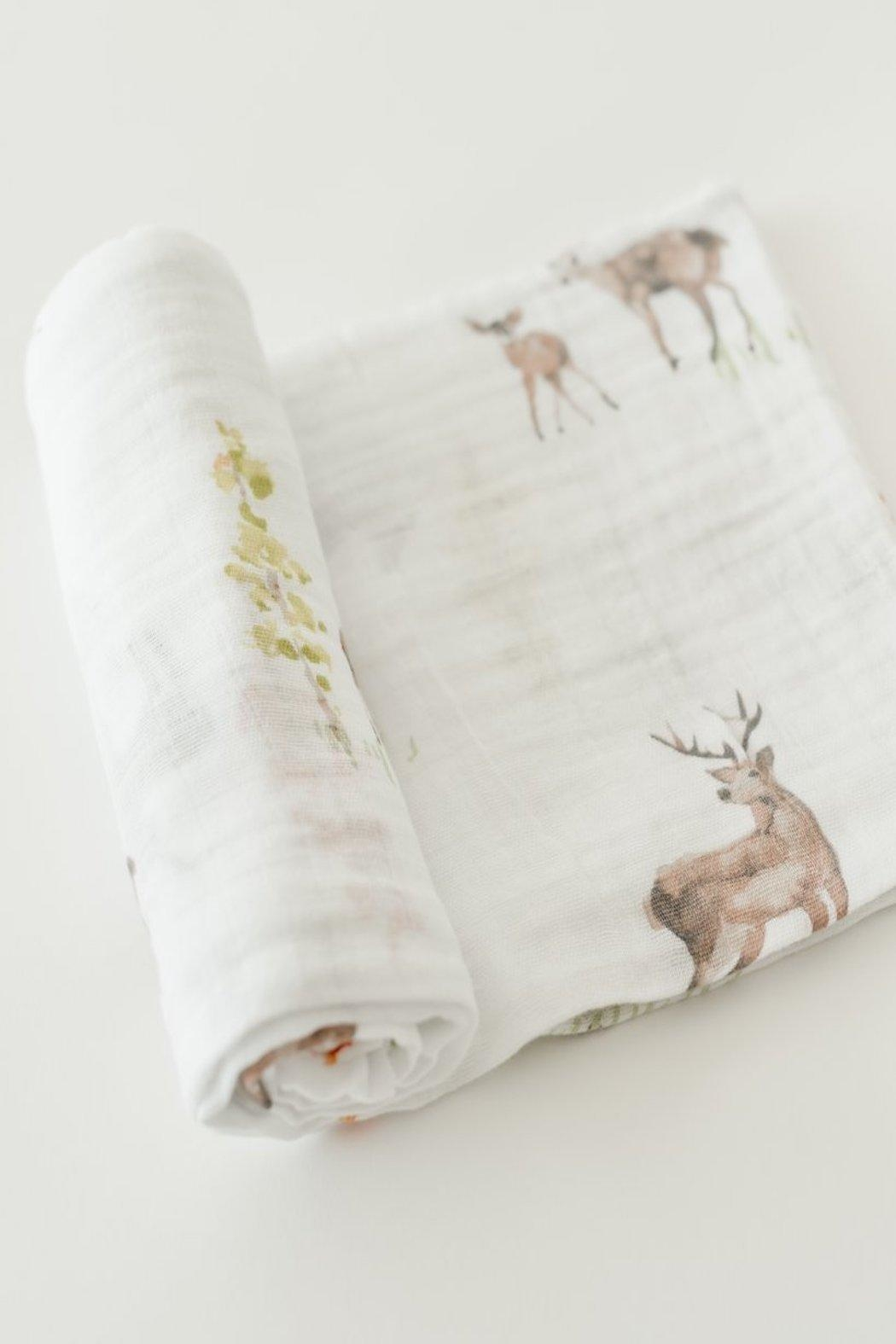 Little Unicorn Oh, Deer Swaddle - Front Cropped Image