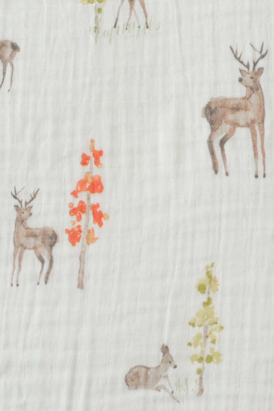 Little Unicorn Oh, Deer Swaddle - Side Cropped Image