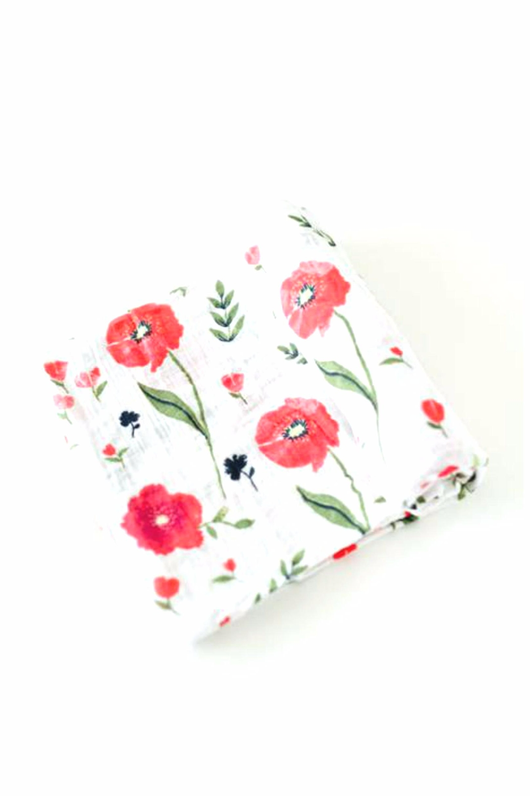 Little Unicorn Poppy Swaddle Organic-Muslin - Main Image