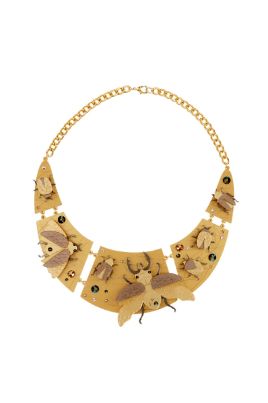 Little Moose Insect Collar Necklace - Main Image