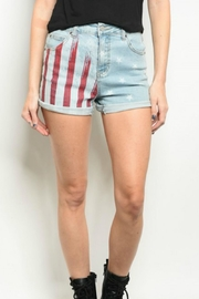 LITZ American Flag Shorts - Product Mini Image