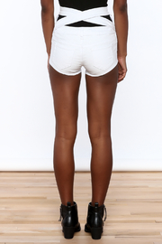 LITZ High Waist Denim Shorts - Product Mini Image