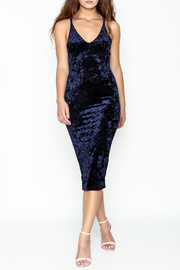 LITZ Velvet Dress - Product Mini Image