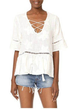 Shoptiques Product: Lace Up Top