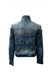 HIPCHIK  Live Denim Jacket - Product Mini Image
