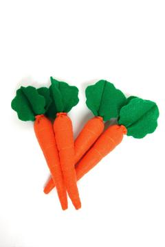 Shoptiques Product: Four Felt Carrots