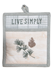 Kay Dee Designs Live Simply Oven Mitt - Product Mini Image
