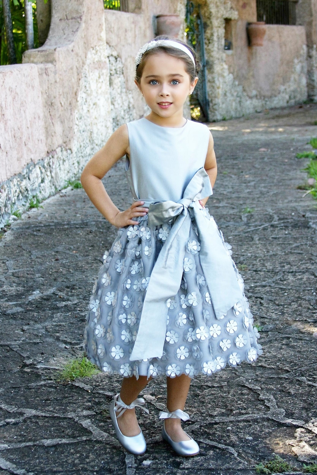 Lively Flower Party Dress from Florida by Warm Hearts Special ...