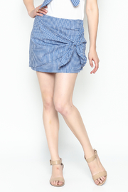 Lively Gingham Skirt - Product Mini Image