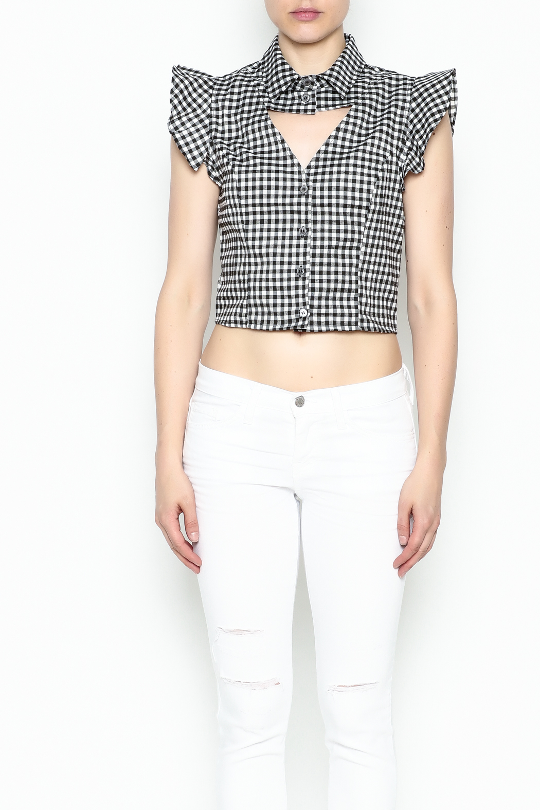 Lively Open Front Top - Front Full Image