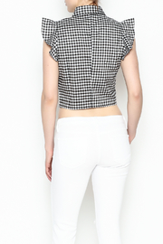 Lively Open Front Top - Back cropped
