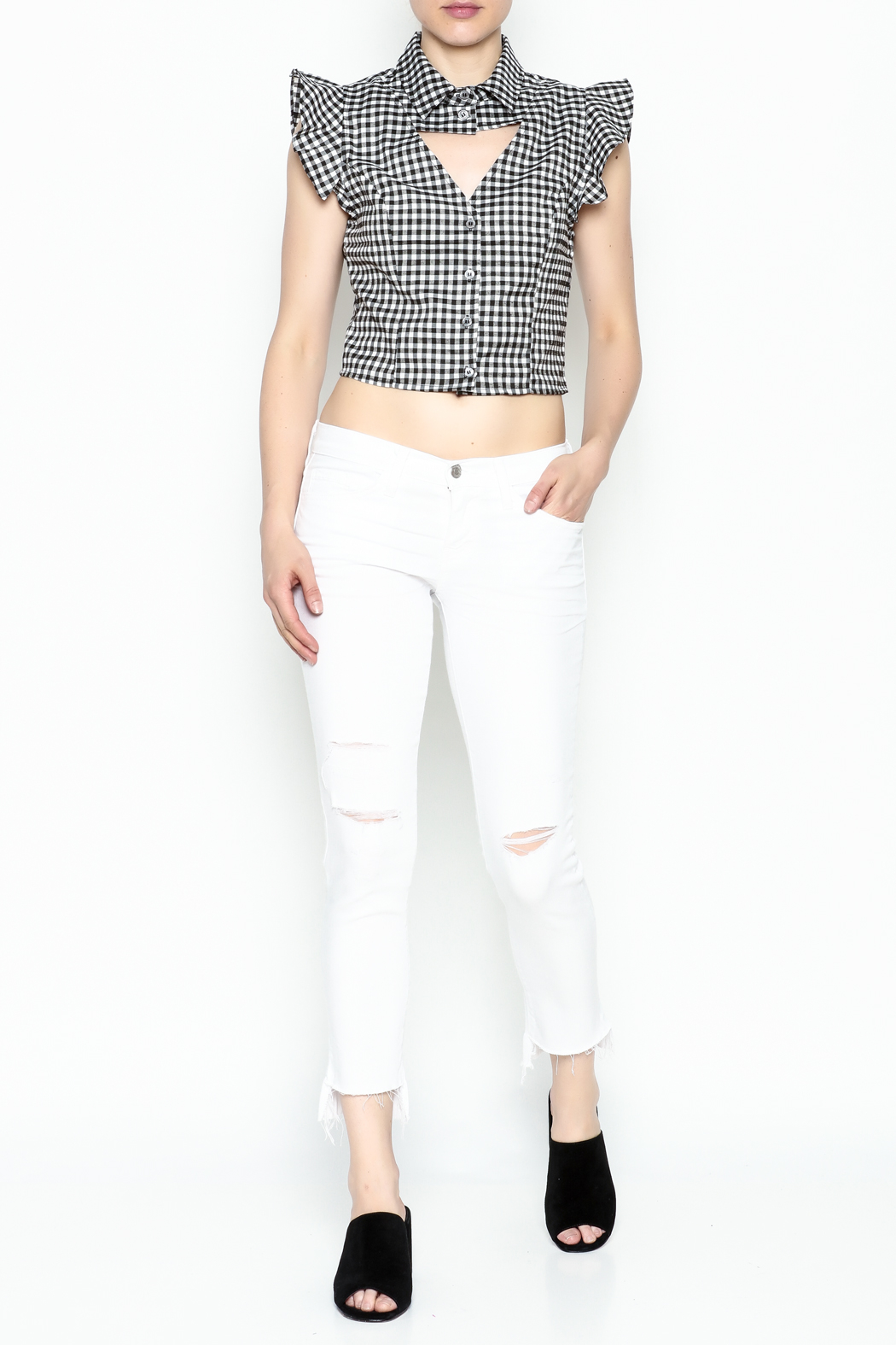 Lively Open Front Top - Side Cropped Image