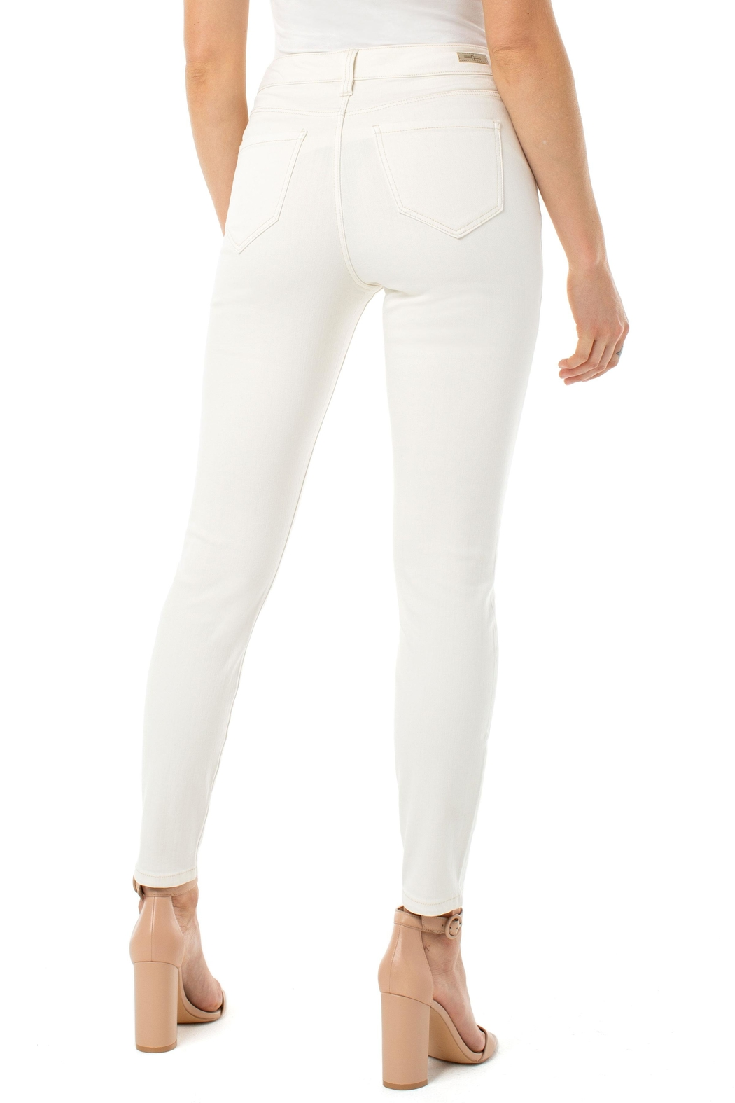 Liverpool Abby Ankle Skinny Jeans - Side Cropped Image