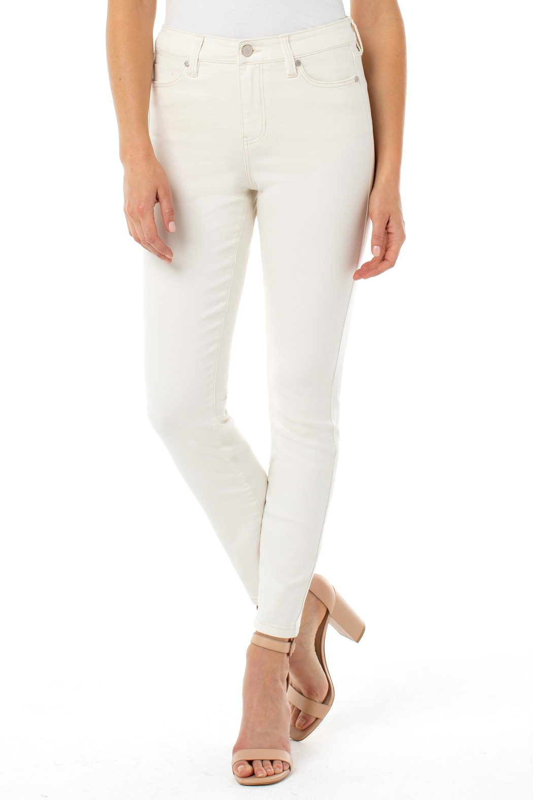 Liverpool Abby Ankle Skinny Jeans - Main Image
