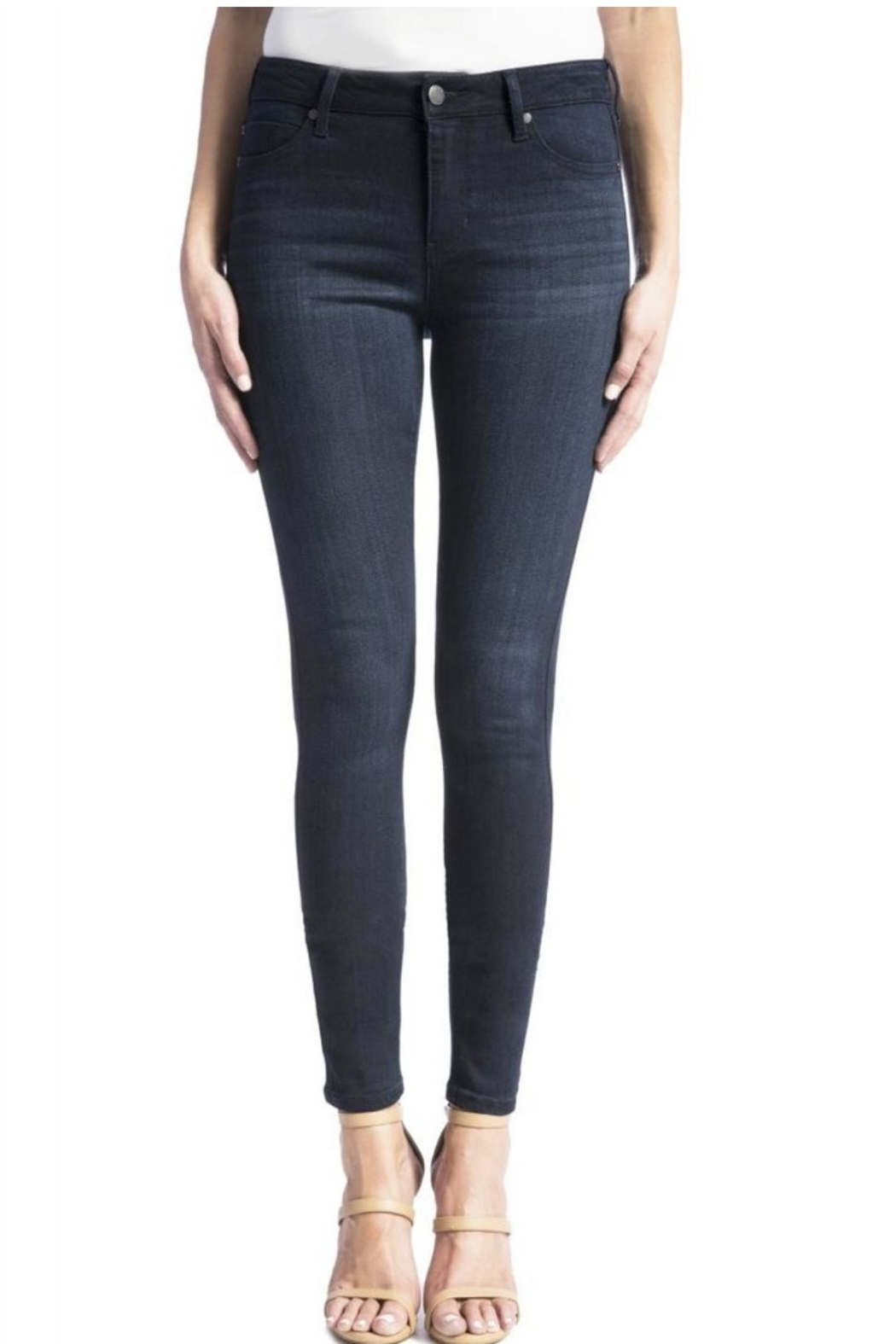 Liverpool Abby Skinny Jeans - Front Full Image