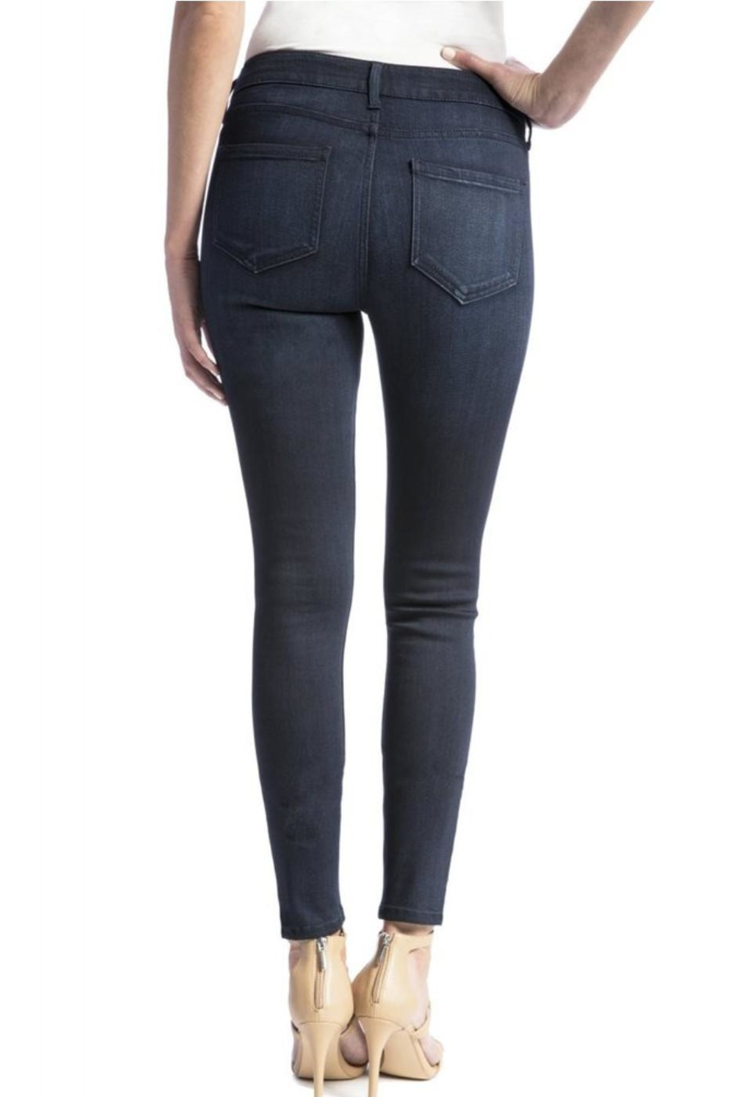 Liverpool Abby Skinny Jeans - Side Cropped Image