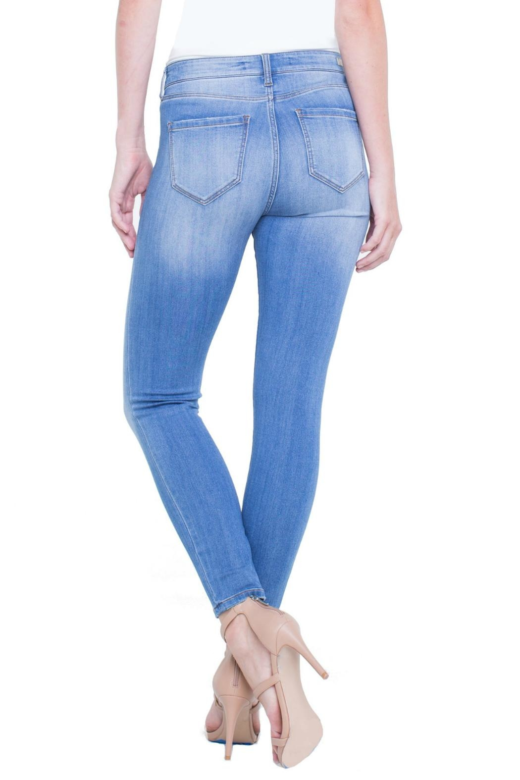 Liverpool Ankle Skinny Jean - Front Full Image