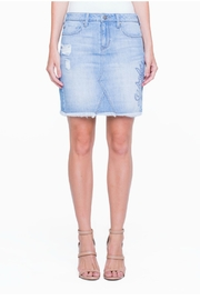 Liverpool Denim Stitch Skirt - Product Mini Image