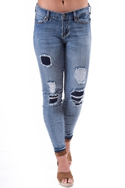 Liverpool Jean Company Liverpool Distressed Jeans - Product Mini Image