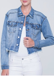 Liverpool Denim crop jacket - Product Mini Image