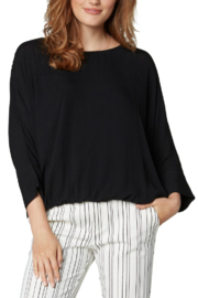 Liverpool  Gathered Hem Top - Front cropped