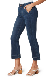 Liverpool Jean Company Liverpool Gia Crop Flare - Product Mini Image