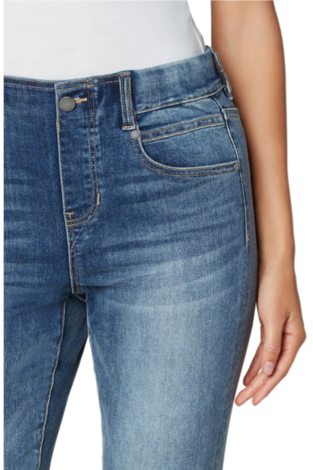 Liverpool  Gia Glider Ankle - Back Cropped Image