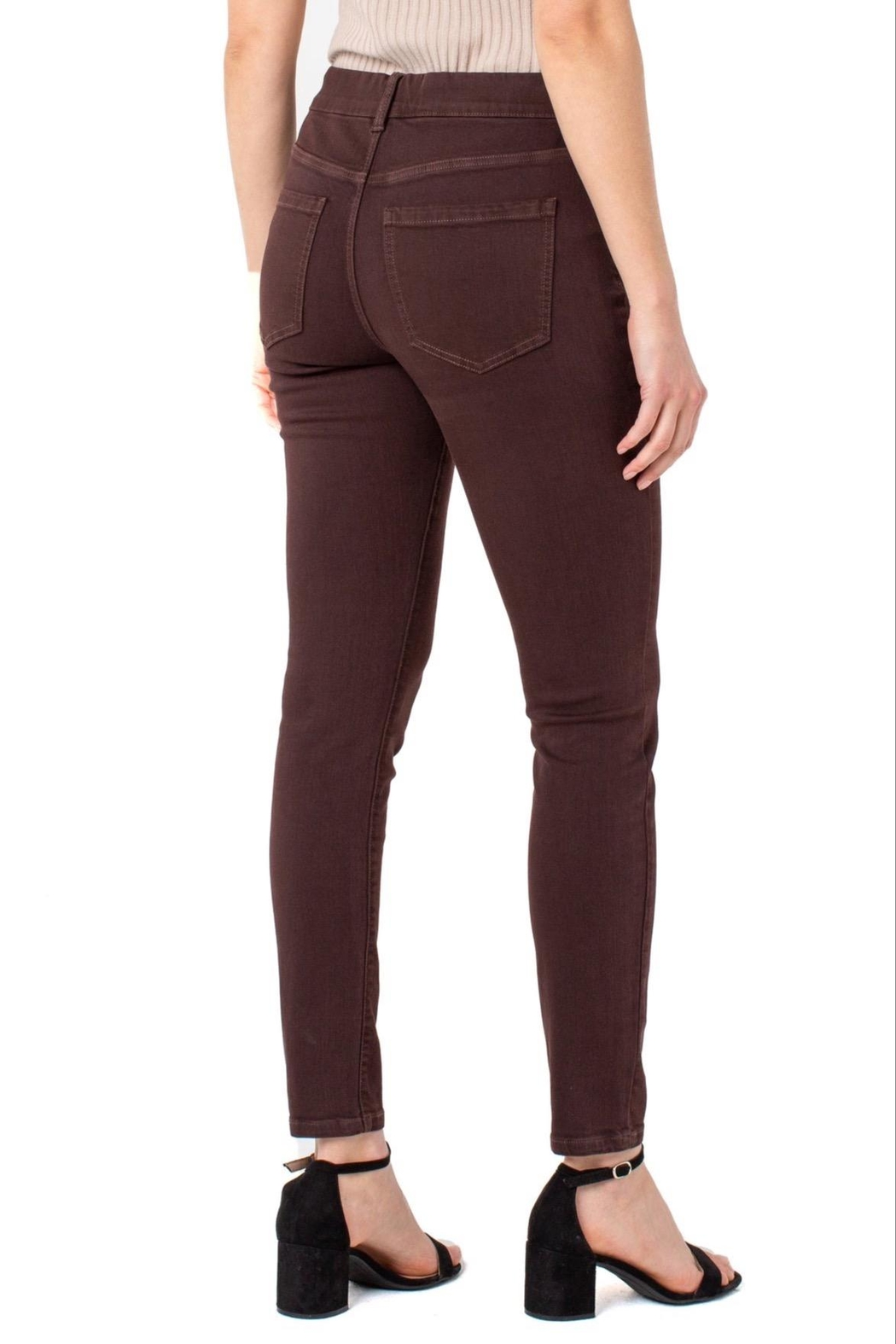 Liverpool Gia Glider Pant - Front Full Image