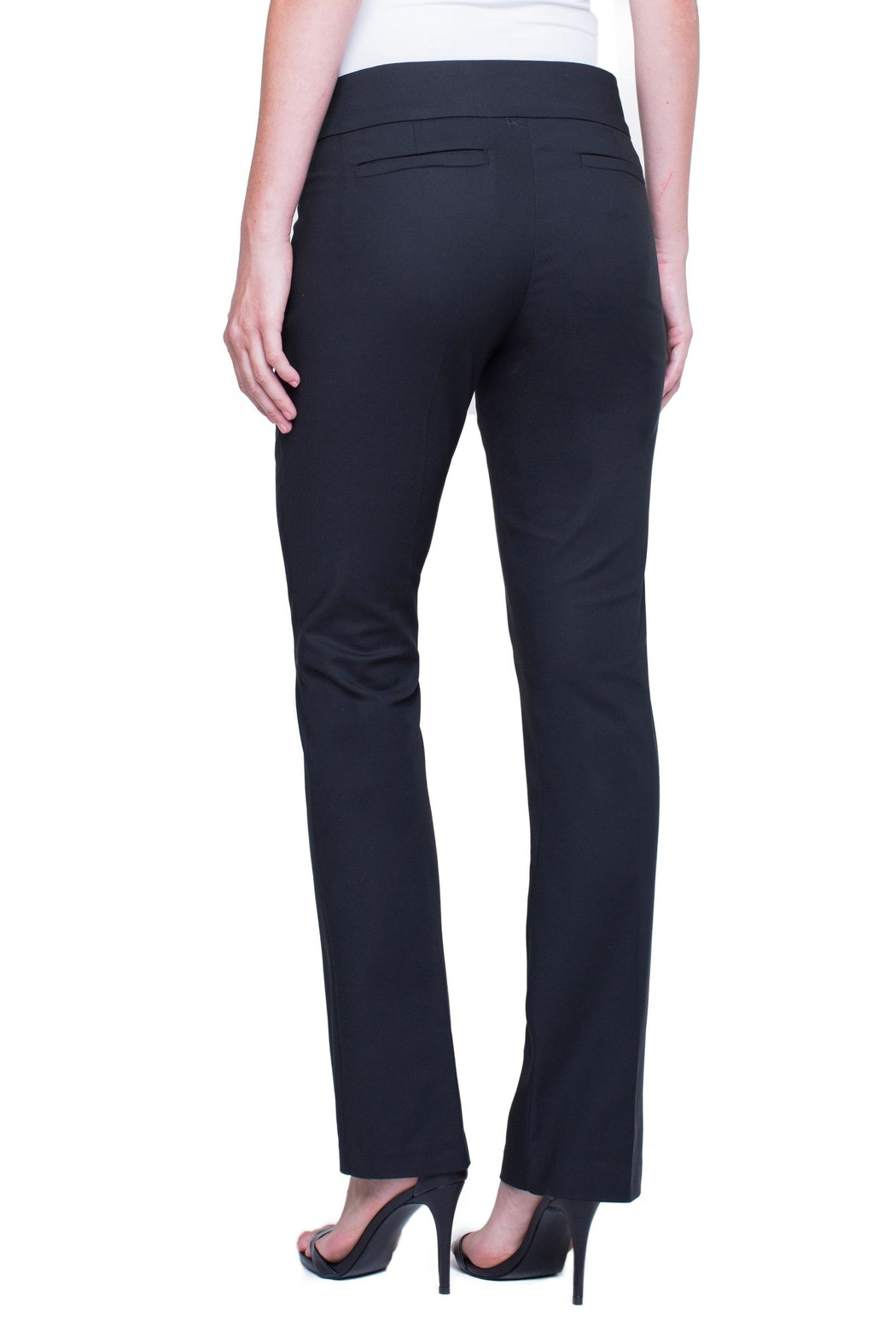 Liverpool Graham Boot-Cut Trouser - Side Cropped Image